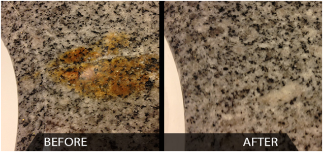 How To Effectively Get Rid Of Granite Rust Stains Clean Rust