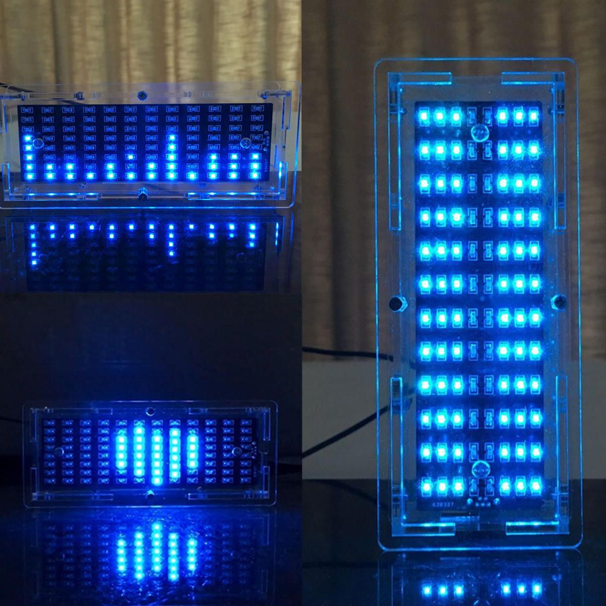 US$10 17] DIY Audio Level Meter Blue LED Display Music