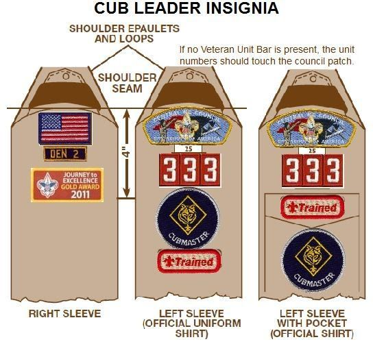 scout leader uniform patch placement - Yahoo Image Search Results - boy scout medical form