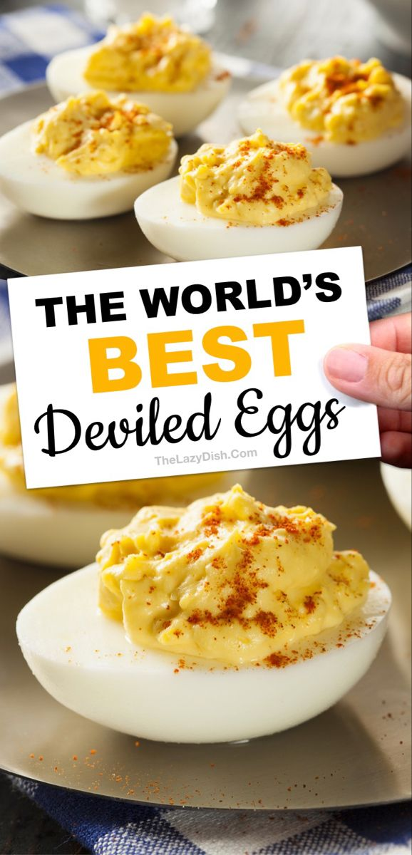 The Best Classic Deviled Eggs - The Lazy Dish