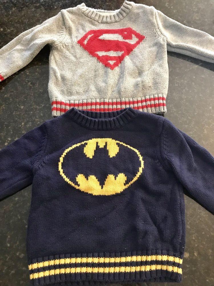 611f1732e1ab GAP Kids Sweaters Superman and Batman  fashion  clothing  shoes ...