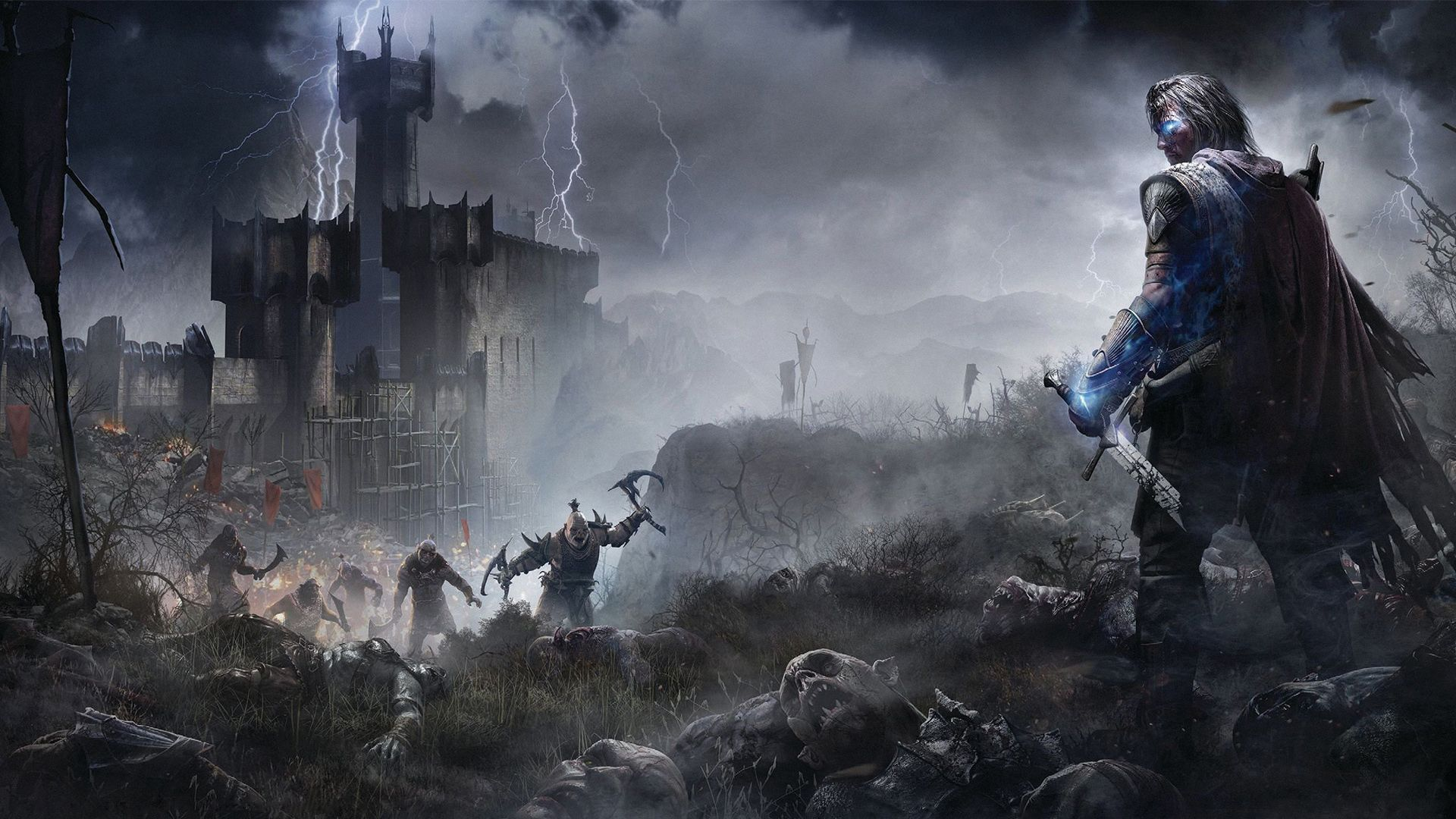 shadow of mordor talion wallpaper the hobbit lord of
