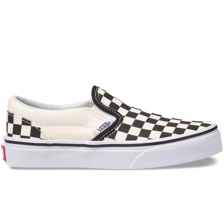 Vans Kids Classic Slip-On Skate Shoes
