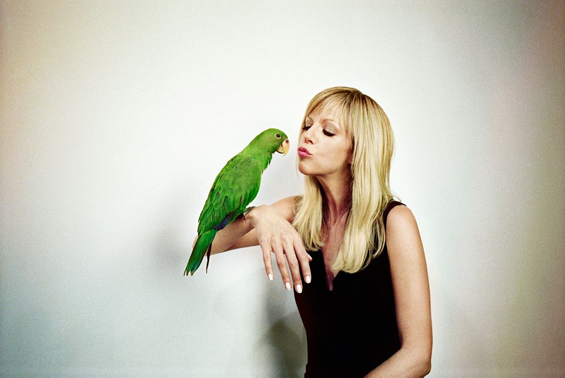 Kaitlin Olson puts a bird on it | TV...Awesome TV | Pinterest | It\'s ...