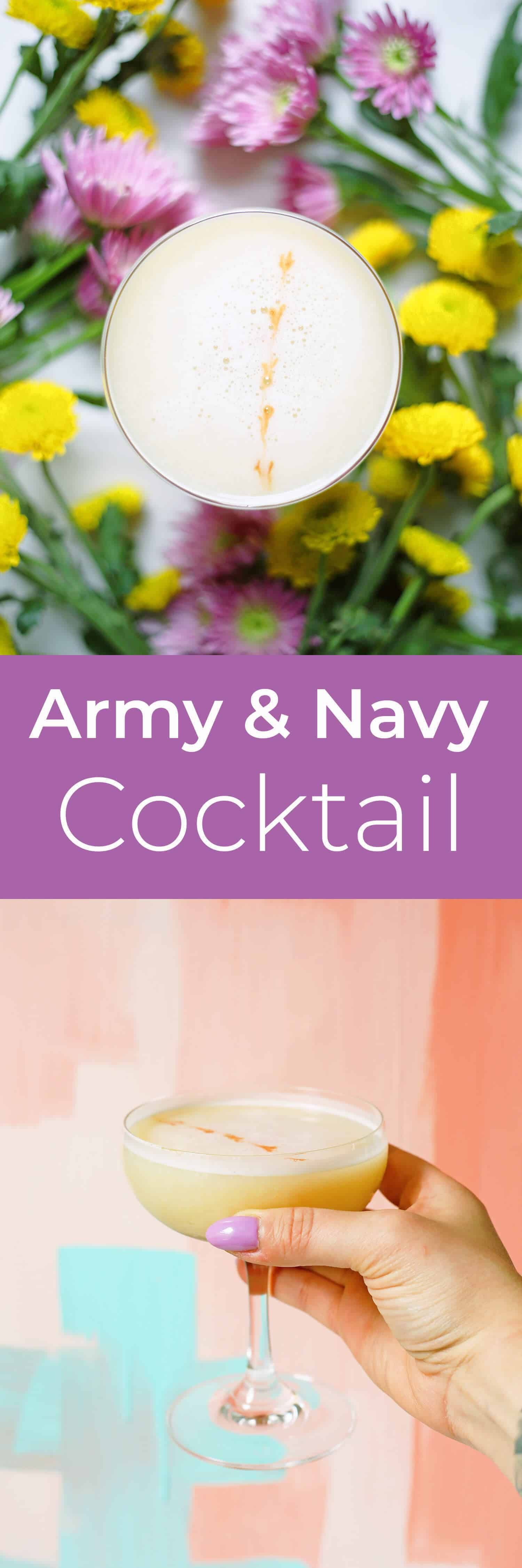 Army & Navy Cocktail A Beautiful Mess Cocktails, Fun
