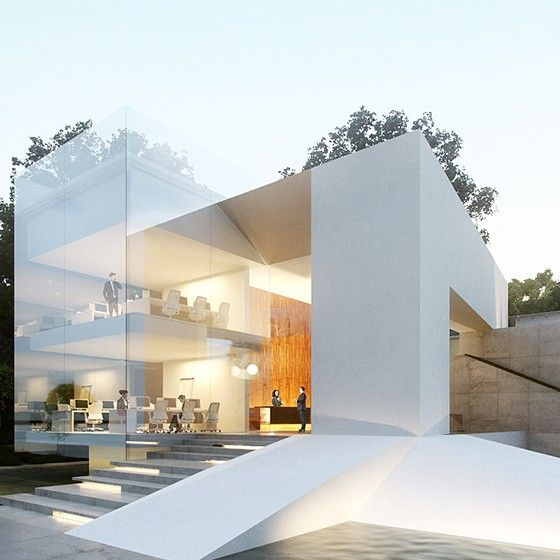 Modern home contemporary architecture minimal design for Architectural plans of famous buildings