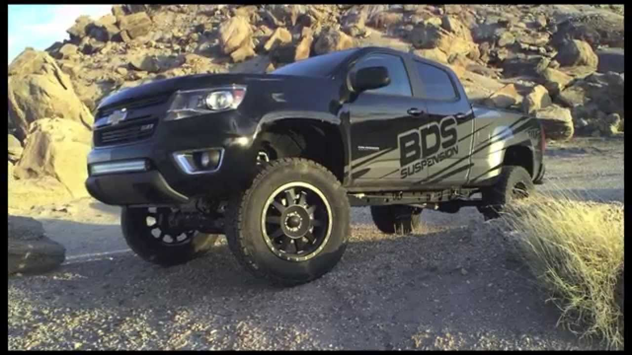 The engineers at bds suspension picked up one of the first 2015 chevy colorado trucks available