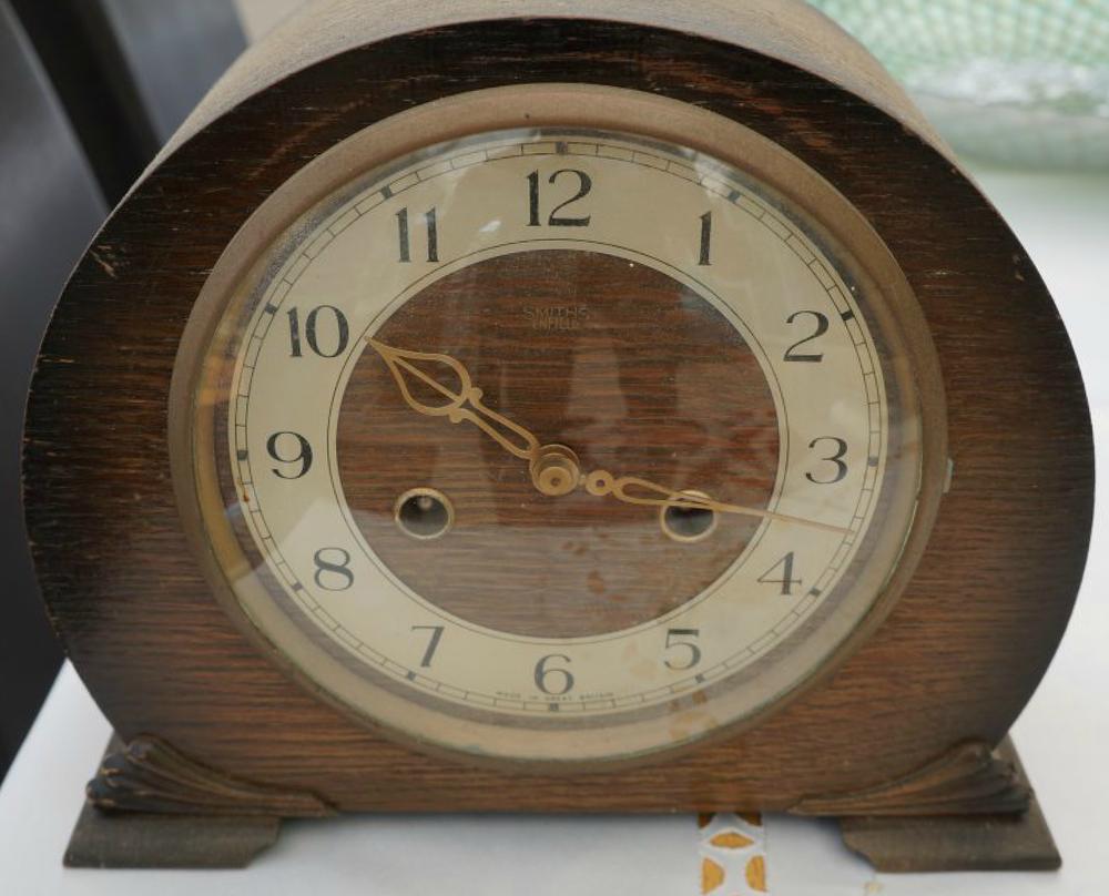Vintage german urgos 8 day mantel clock with chimes mantel vintage german urgos 8 day mantel clock with chimes mantel clocks mantels and clocks amipublicfo Choice Image