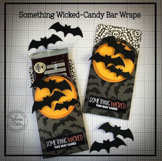 Halloween-Something Wicked This Way Come--Candy Bar Wrapper-Party - halloween office ideas
