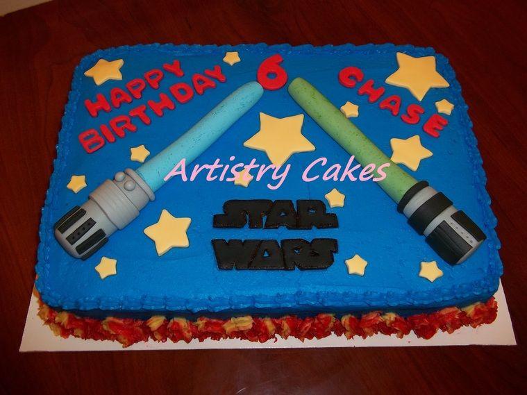 Image result for star wars sheet cake ideas ryan birthdat Pinterest