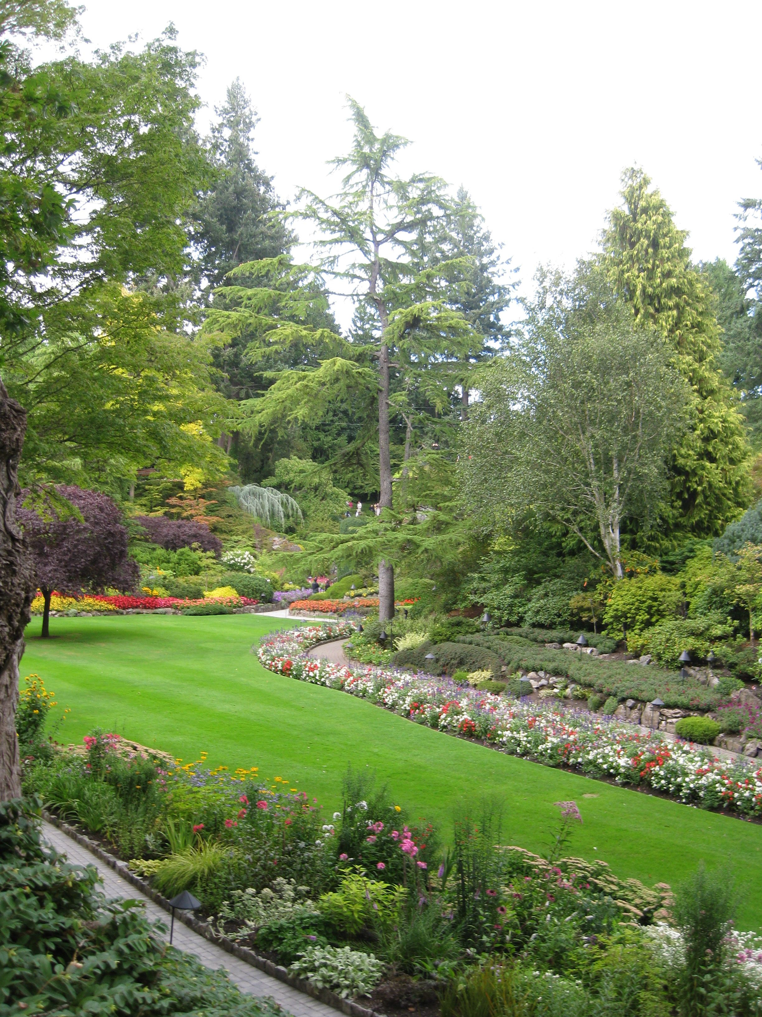Backyard Ideas Butchart Gardens
