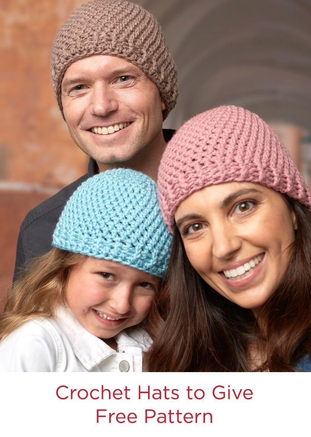 Free Pattern Crochet Hats to Give in Red Heart With Love Yarn | Top ...