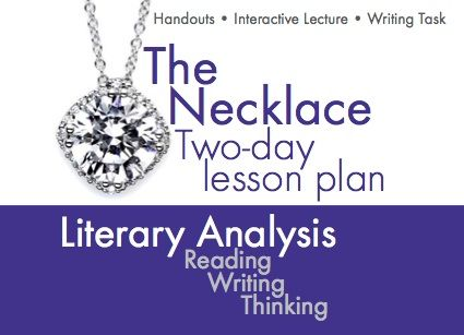 The Necklace By Guy De Maupassant TwoDay Interactive Lesson