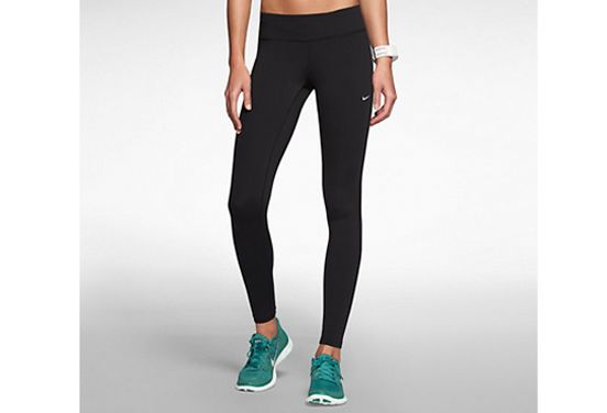 Splurge: Leggings We'll get this out of the way early: Exorbitantly priced pants are usually worth it. Case in point: These Nike running tights ($110). Think of pricey leggings as an investment piece: They're built to withstand the test of time (you are going to, and should, wash these babies a lot), and the quality material means you won't have to hike up your pants after every single burpee