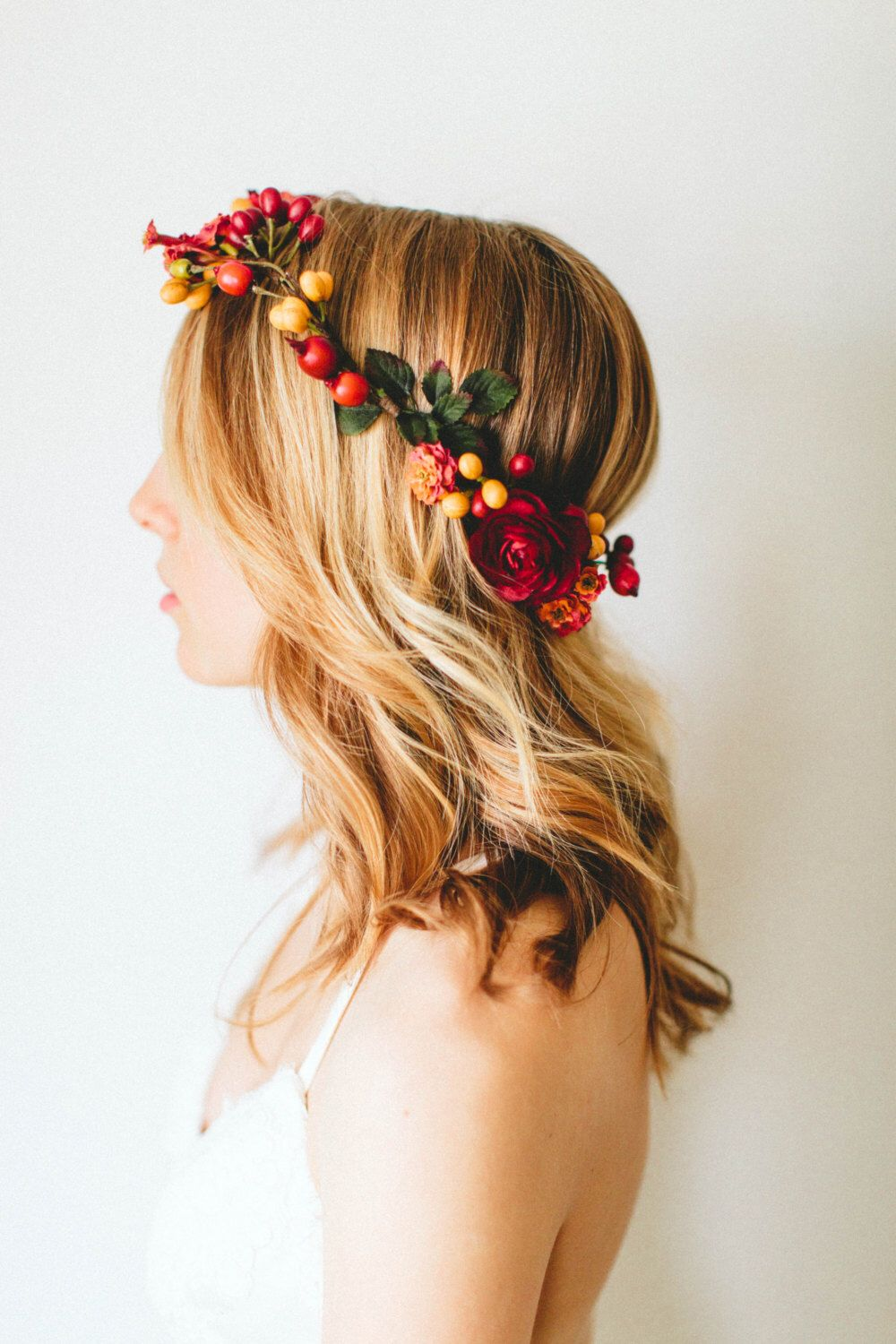 Berries Galore Fall Flower Crown Maternity Photography Pinterest