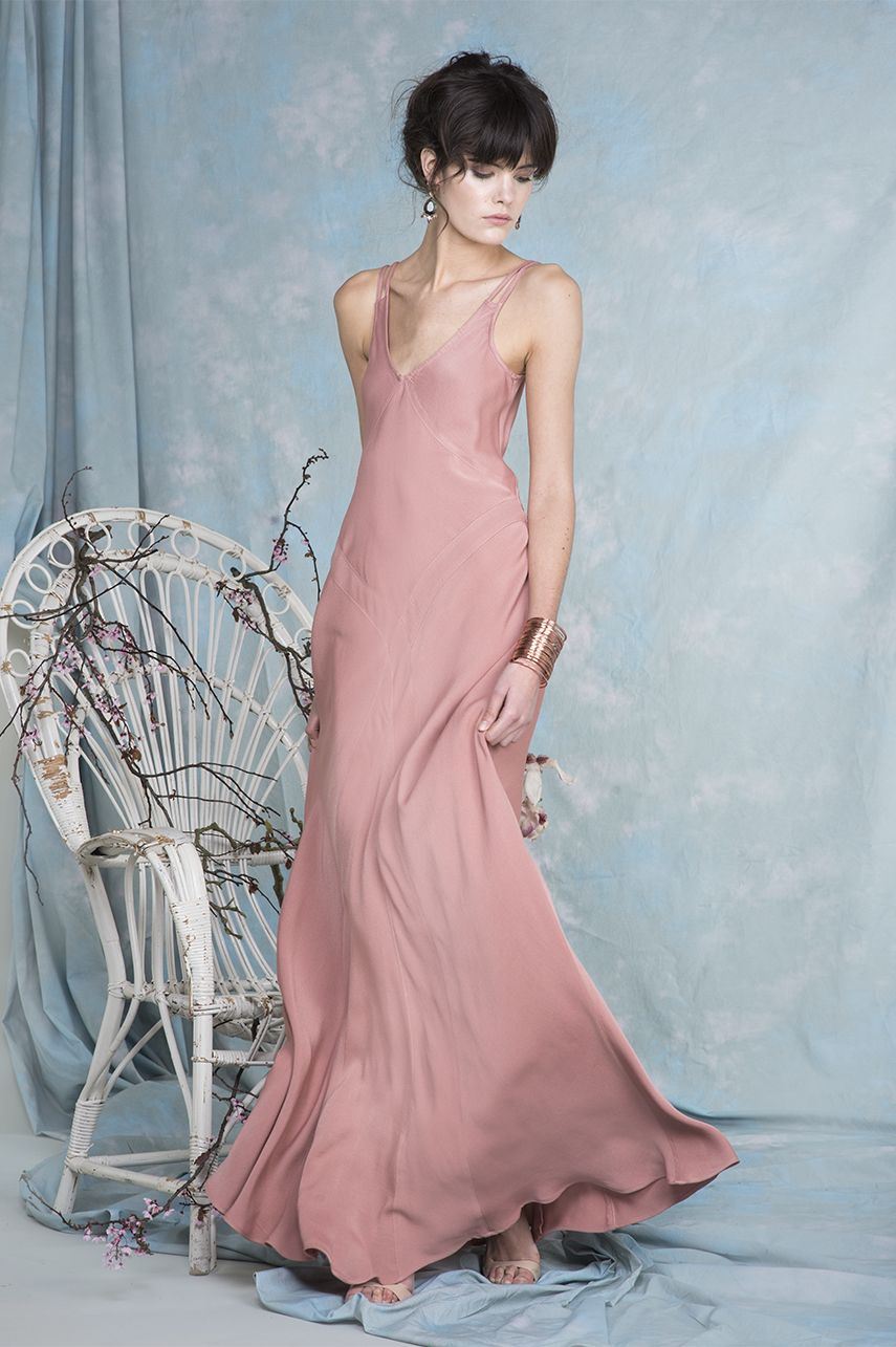 Mina dress in rose dawn | Bridal | Pinterest | Dawn, Rose and Summer