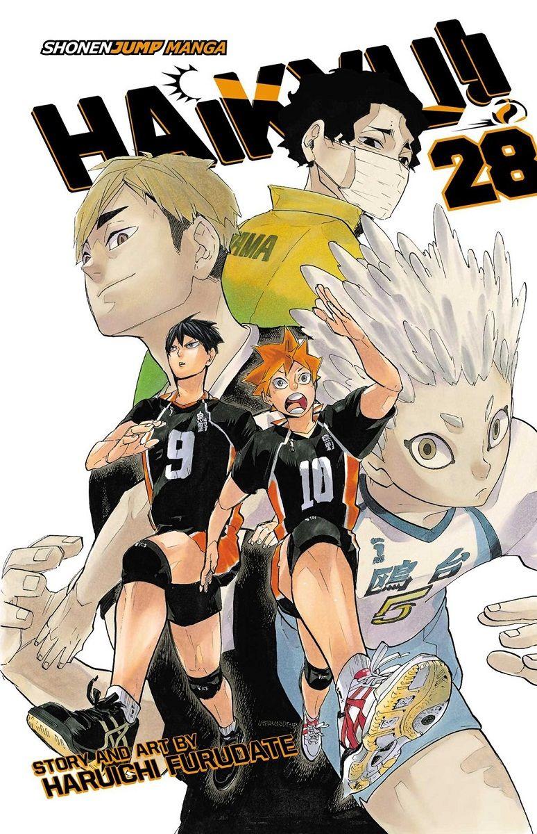 Haikyu Manga Volume 28 In 2020 Manga Covers Haikyuu Manga Haikyuu