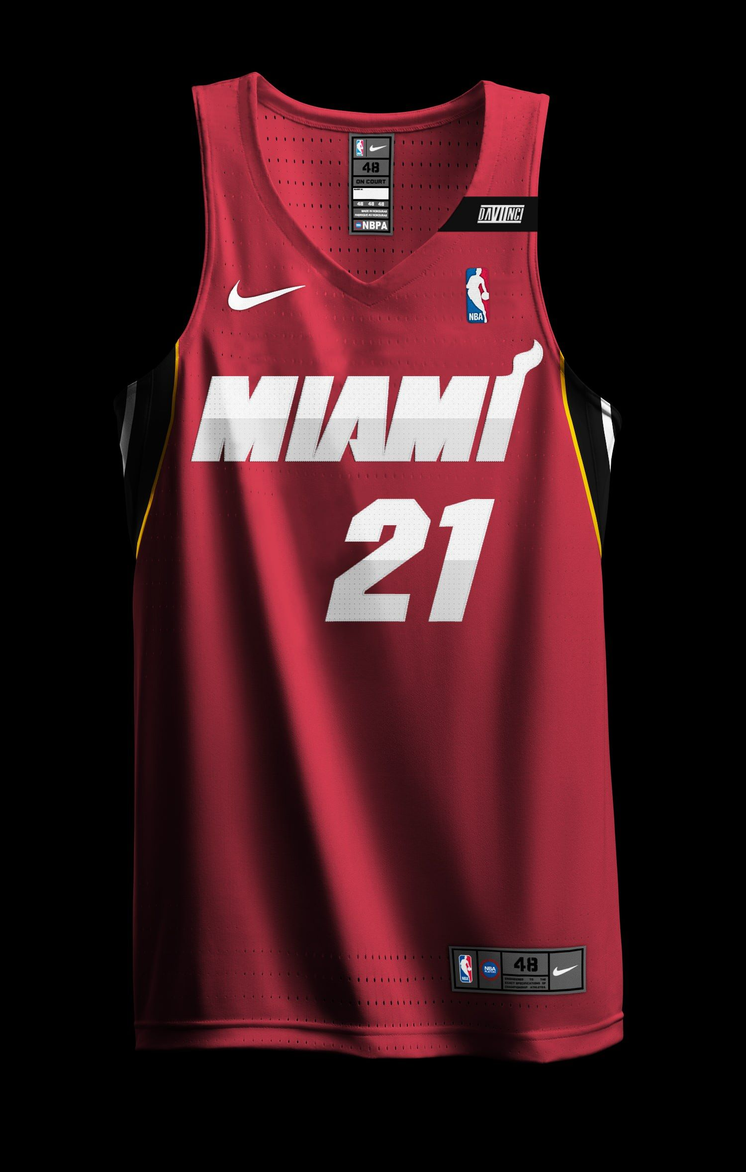 Nba X Nike Redesign Project Miami Heat City Edition Added 1 2 Page 6 Concepts Chris C Sports Uniform Design Basketball Jersey Outfit Basketball Clothes