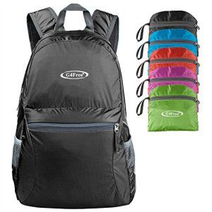 G4Free Ultra Lightweight Packable Backpack. Hiking,Camping and ...