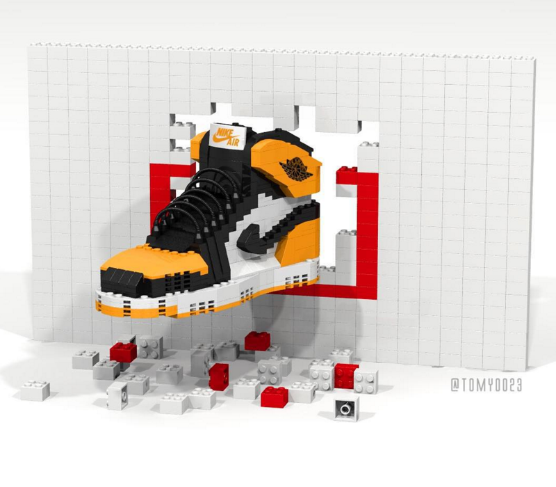 Backboard' Art 'shattered Air Jordan ReplicaConcept I Lego MGUzVSqp
