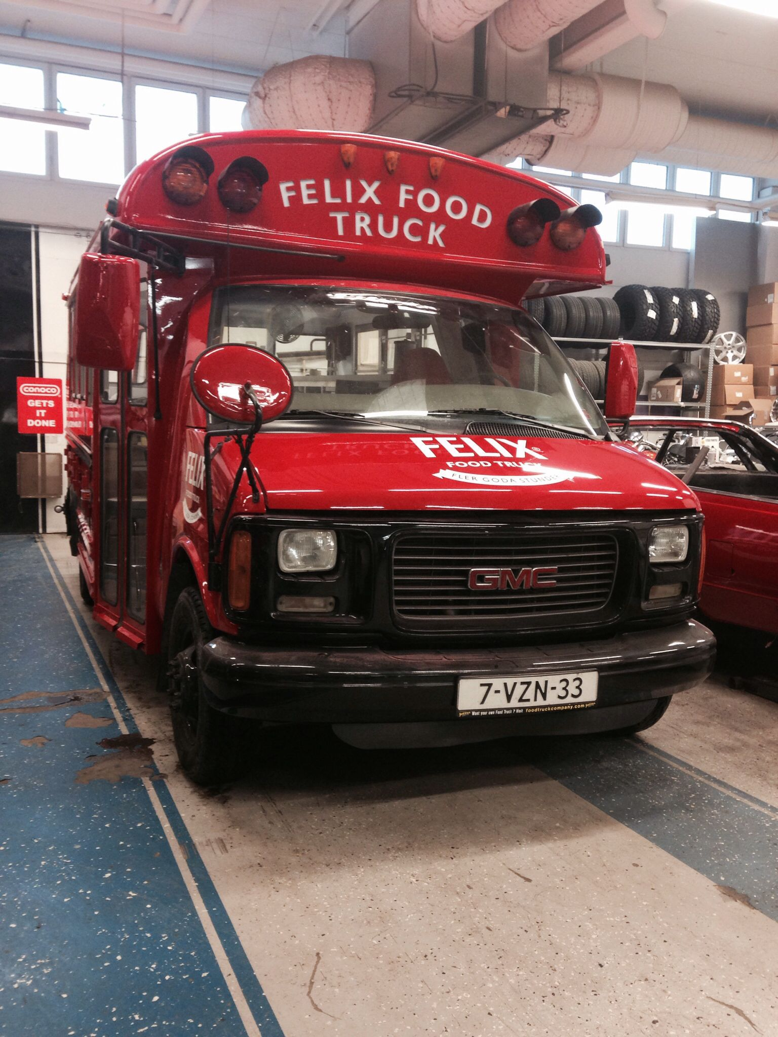 Little red wagon funny car pictures car canyon - Felix Food Truck By N Kab Custom Carsfood