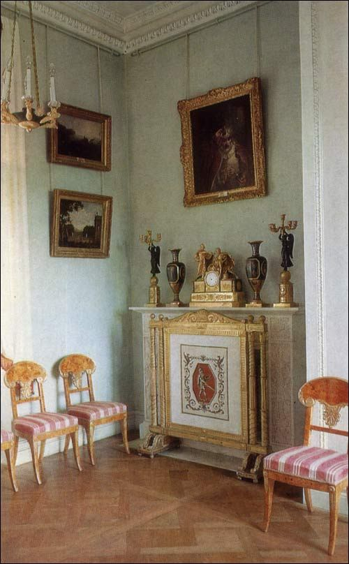 Rossi Room - Pavlovsk Palace & Park - Country Residence of the Russian Imperial Family