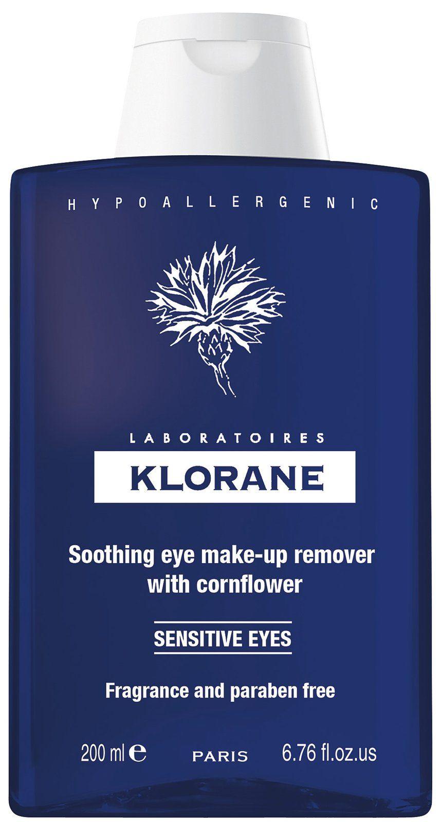 Klorane Soothing Eye MakeUp Remover with Cornflower Eye