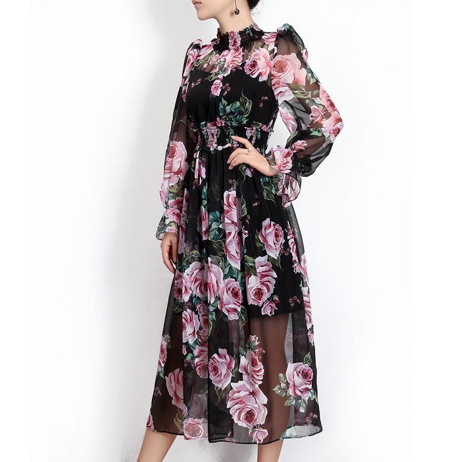Rose turtleneck runway trends pinterest dresses boho dress