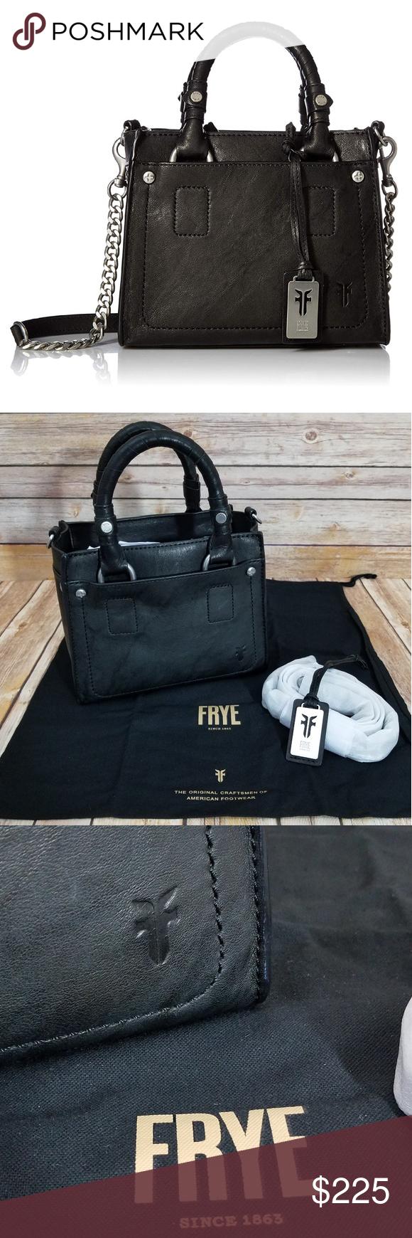 811555edc NWOT Frye Demi Mini Crossbody Satchel Bag Purse In typical Frye fashion-a  beautiful,