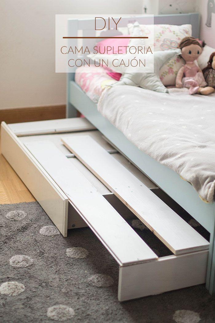 Diy decoración infantil, de cajón de ikea a cama | deco | Pinterest ...