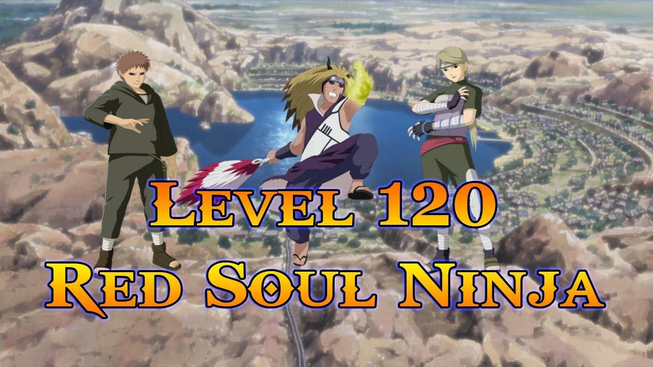 Anime Ninja - Level 120 Red Soul Ninja - Naruto Game - Browser Online Game | Anime ninja, Naruto ...