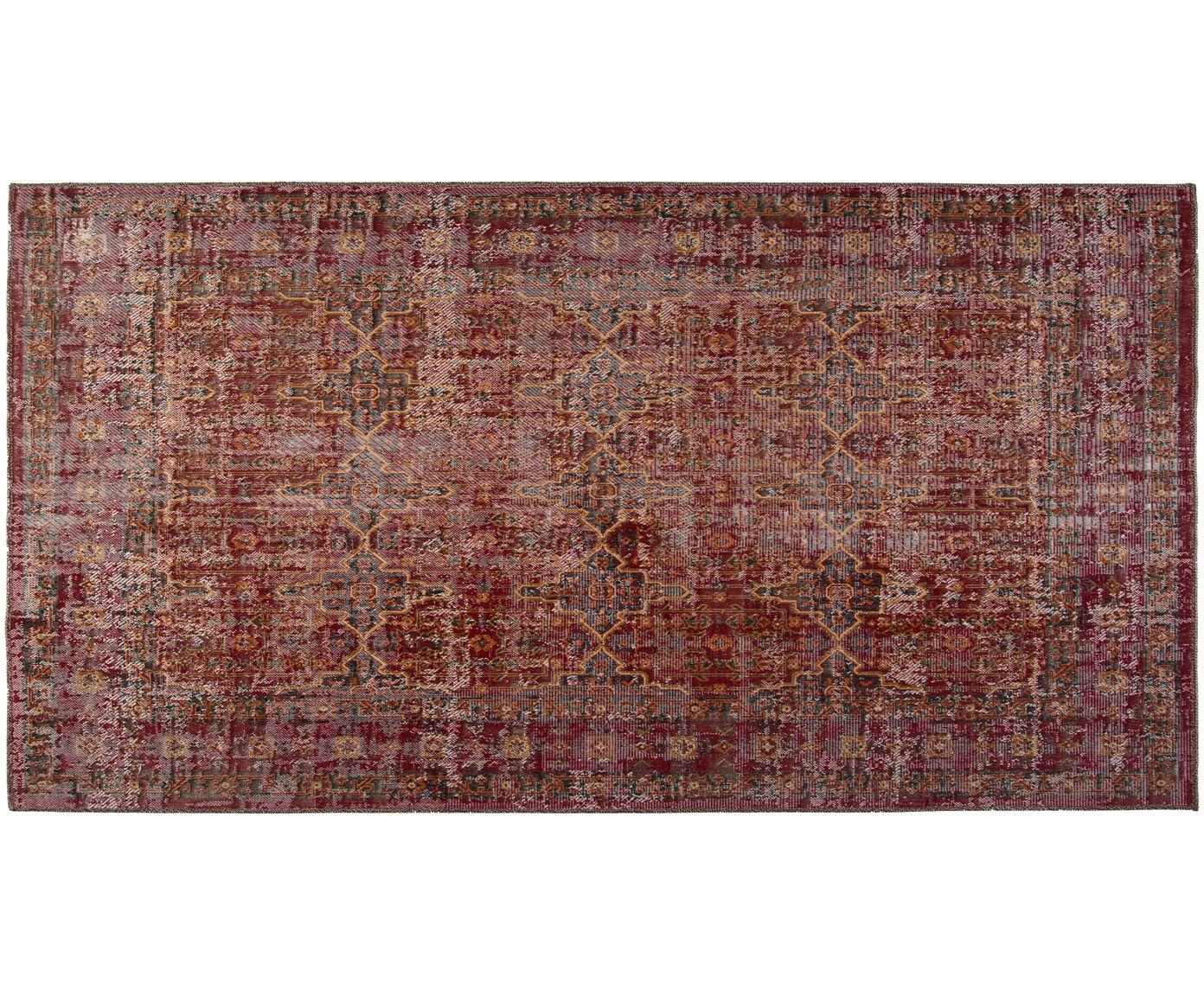 In Und Outdoorteppich In Rot Westwingnow Izmir Outdoor Teppich Teppich