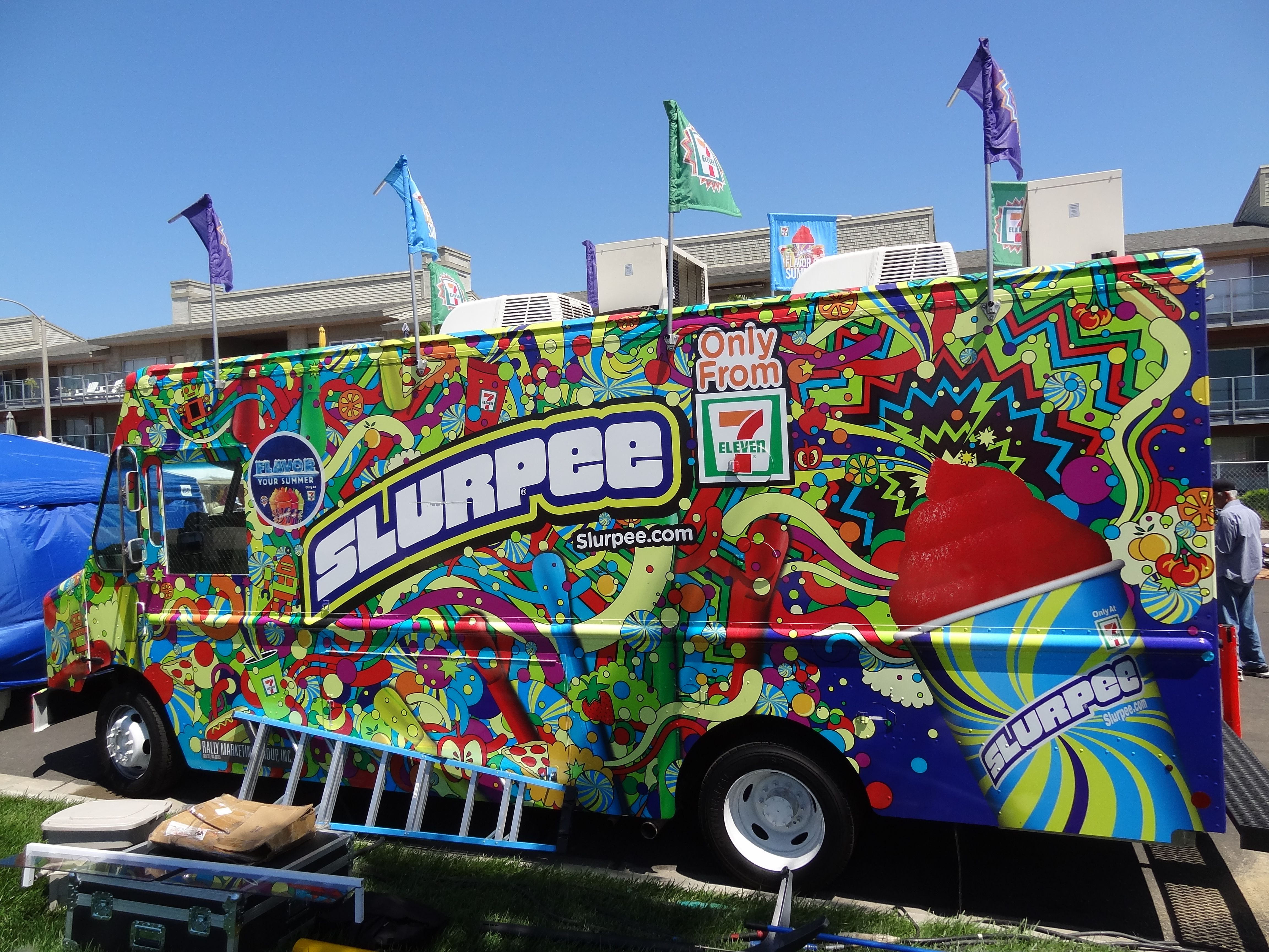The Slurpee Truck Was Present At The Hueneme Beach Fest