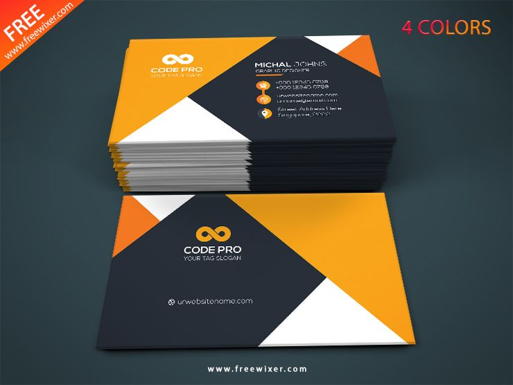 Colorful Business Card Template Free Download Free Business Card Templates Colorful Business Card Download Business Card