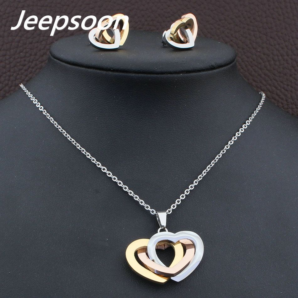 Wholesale high quality fashion jewelry stainless steel heart pendant