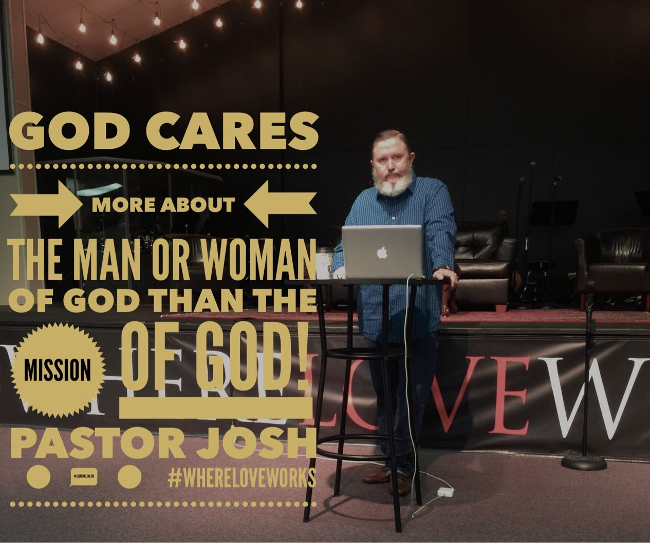 Quote from the 10 M's of Ministry Prophetic Conference Session ~ Pastor Josh  #CliffdaleAlive#WhereLoveWorks