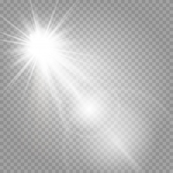 Shining Stars And Shining Glare Photoshop Rendering Watercolor Paper Texture Geometric Background