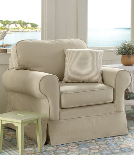 Pine Point Slipcovered Swivel Rocker  Chairs at L L Bean. Pine Point Slipcovered Swivel Rocker  Chairs at L L Bean   MADE IN