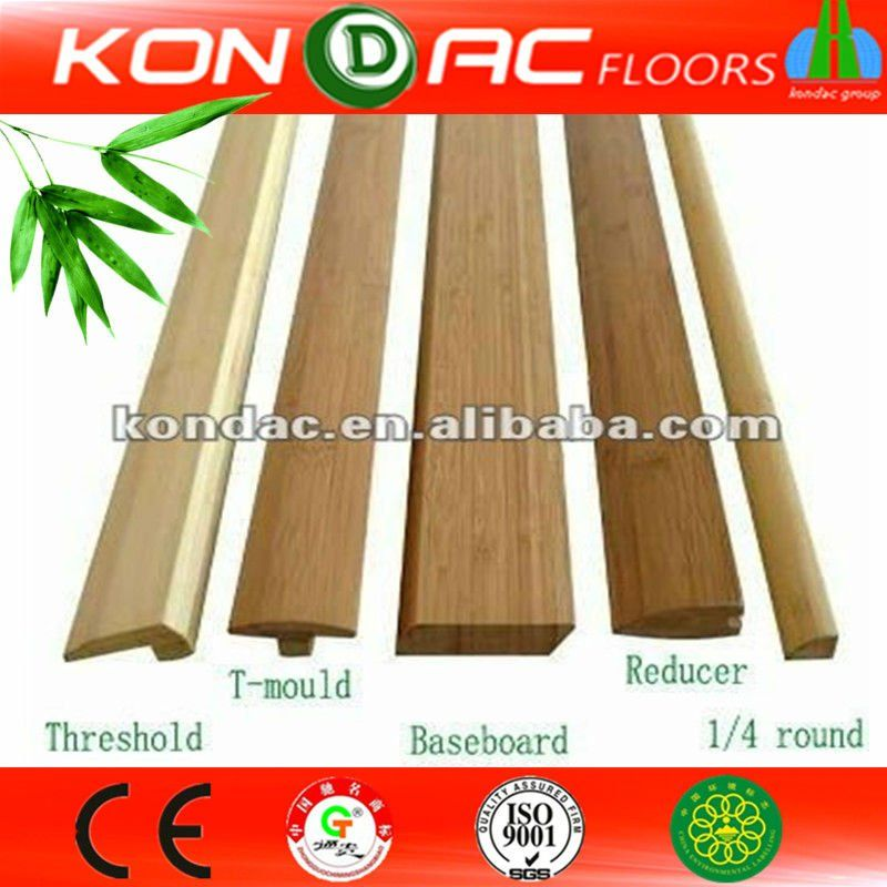 Bamboo flooring accessories floor transition strips for Wood floor pieces