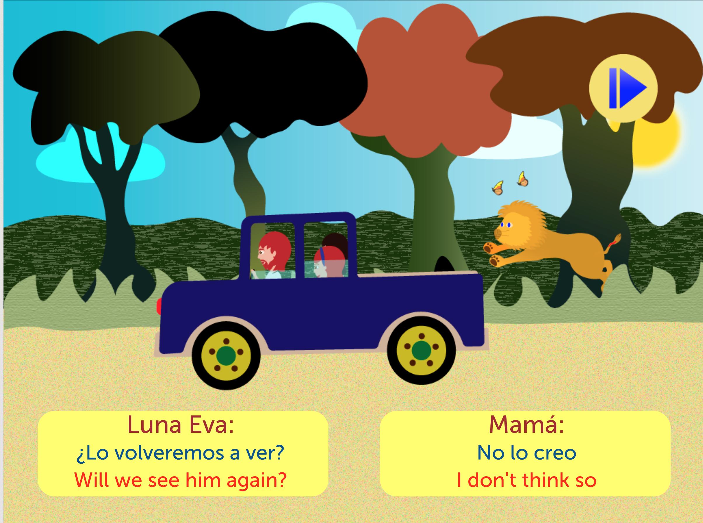 Cuento bilingüe español - inglés con narración sincronizada. Incluye ...