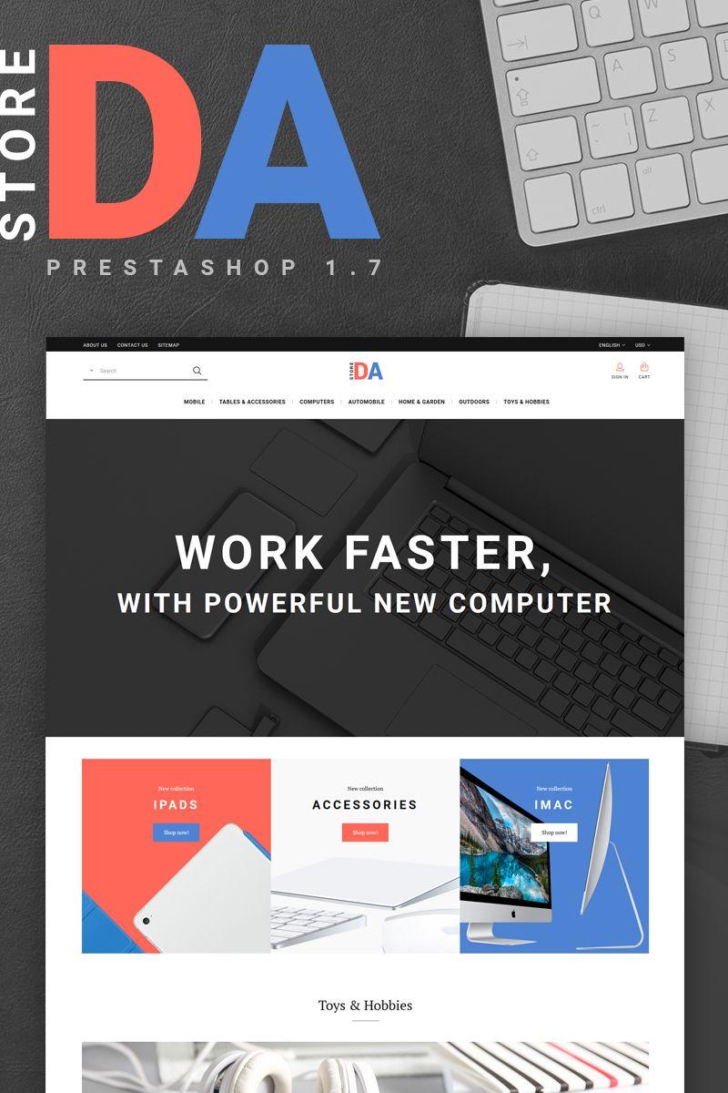 Appleomb PrestaShop Theme Big Screenshot | Website Templates ...