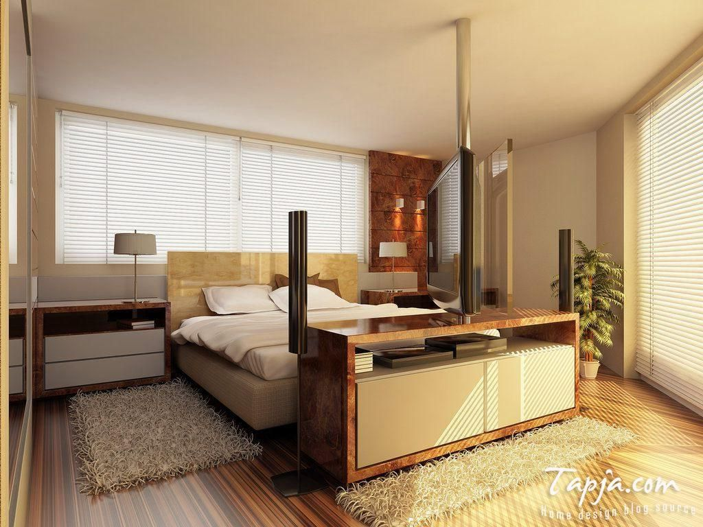 Modern Bedroom Built In House Corner Triangle Shape Bed With - Triangle bedroom design
