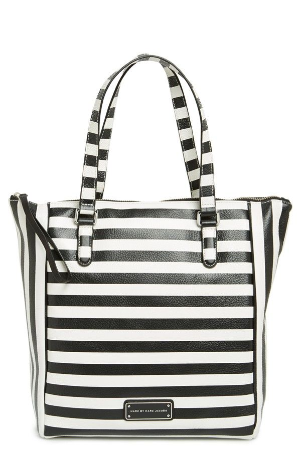 MARC BY MARC JACOBS 'Take Me' Stripe Tote | Nordstrom.......my new obsession!!!