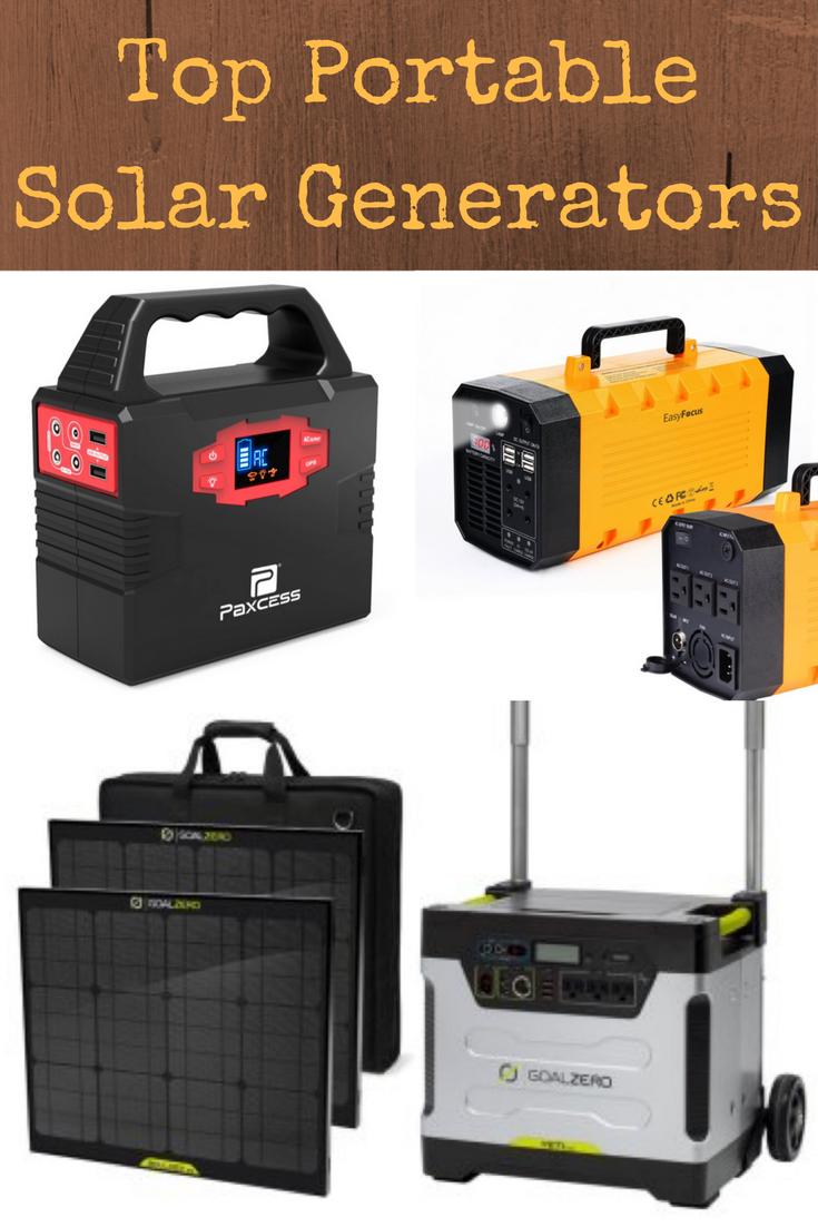 Best Portable Solar Generators For Emergencies Backdoor Survival Portable Solar Generator Solar Generators Solar Energy Diy