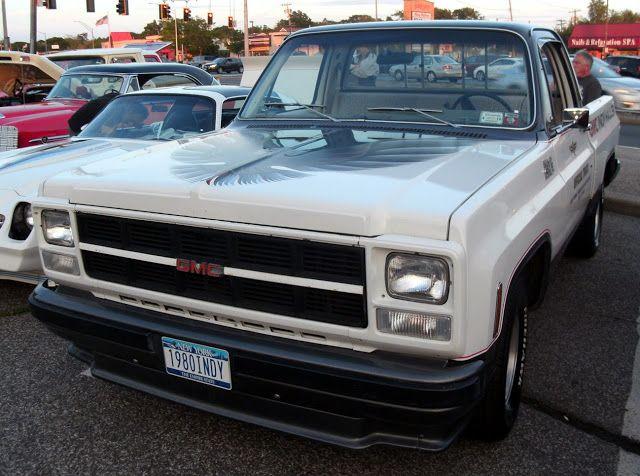 Just A Car Guy: 1980 GMC Indy Hauler truck