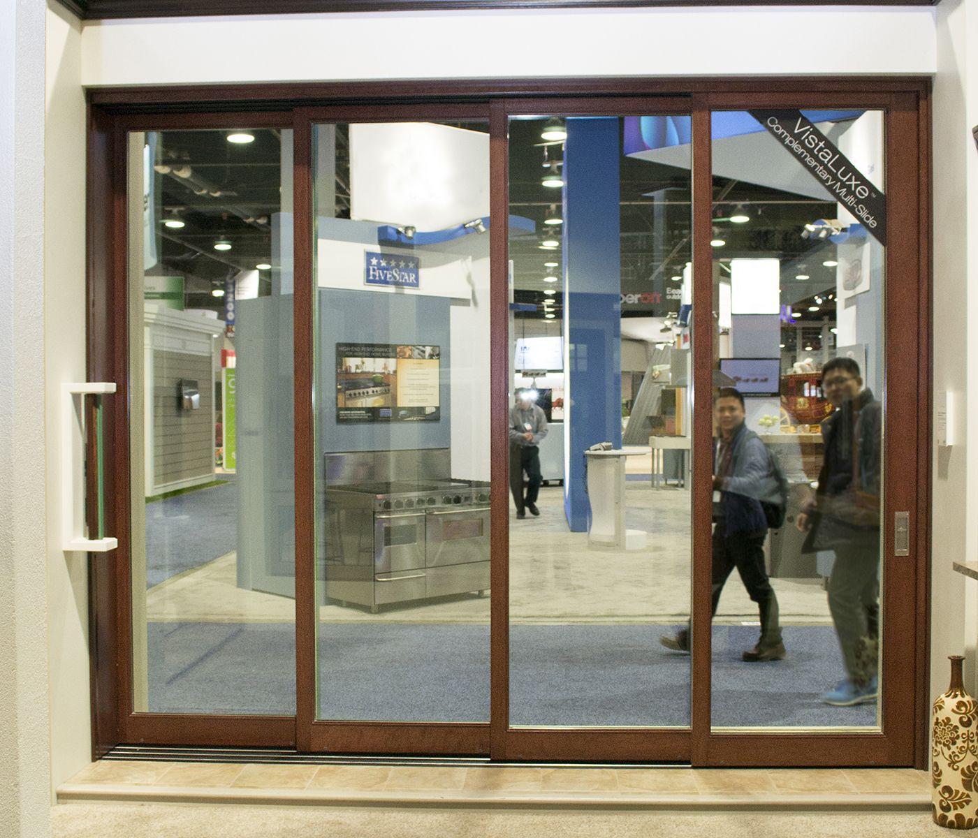 Kolbe kolbe vistaluxe multi slide patio door for Multi sliding glass doors
