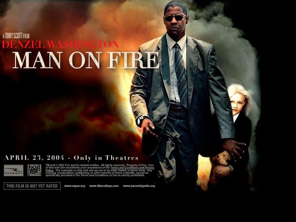 Denzel Washington movie posters | Man on fire, Fire movie, Denzel washington