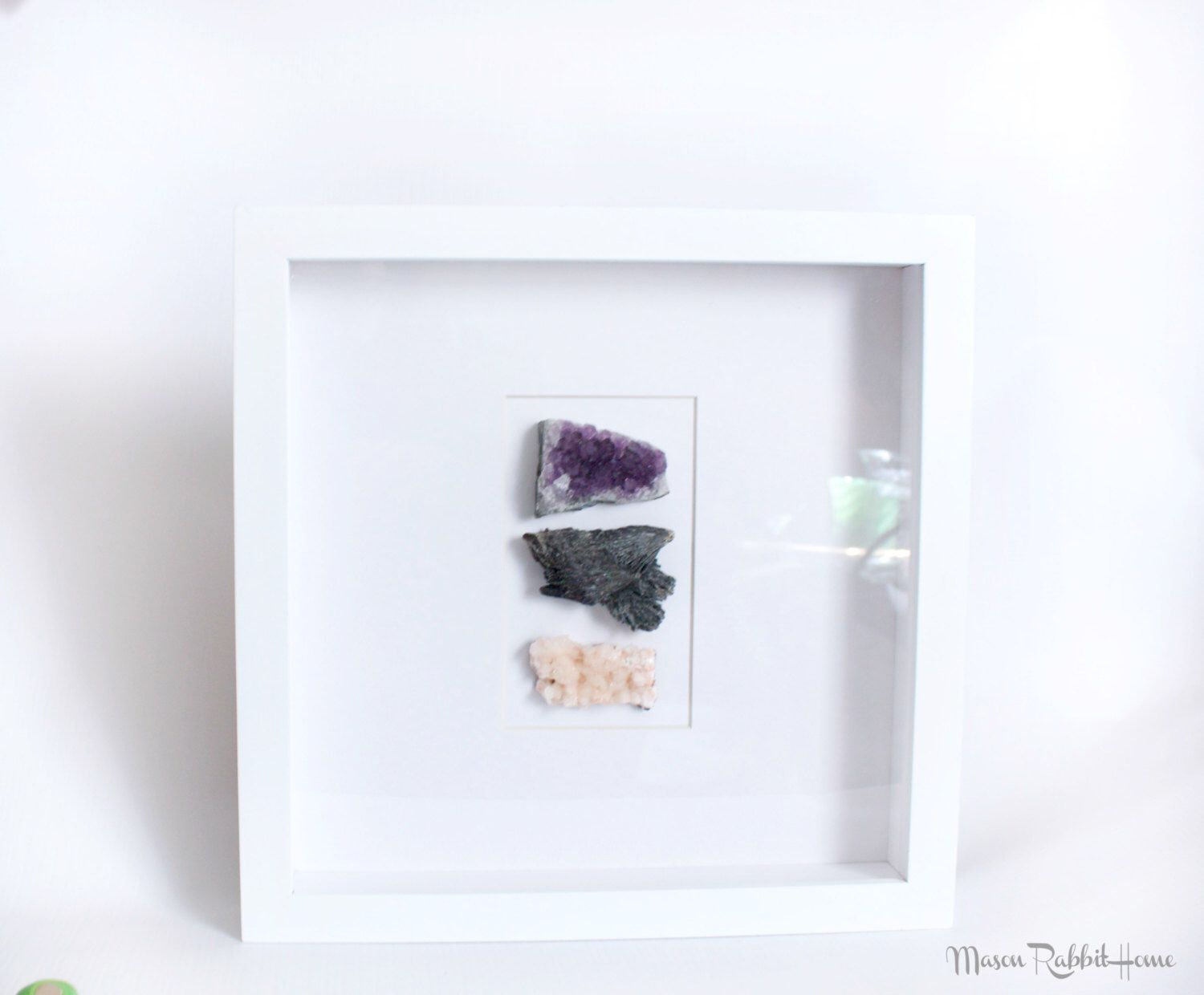 Framed Gemstones Wall Art   Gemstone Decor, Framed Agate, Agate U0026 Geode  Decor,