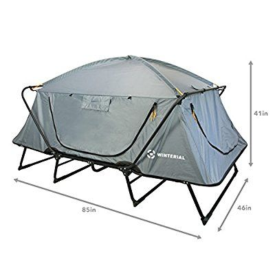 Winterial Double Outdoor Tent Cot Camping Family