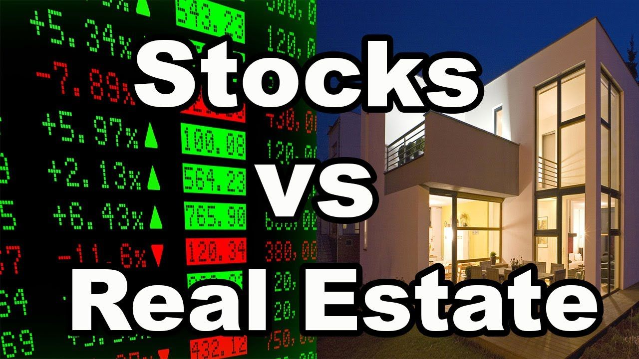Pros and Cons of Stocks vs Real Estate Is one better than